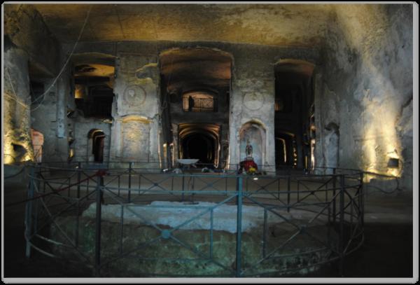 Livello inferiore della Catacomba (foto di E. Procaccianti)