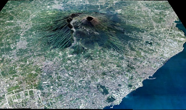 Vesuvio Satellite