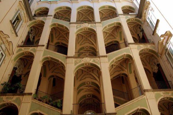 Nápoles – Palazzo dello Spagnuolo