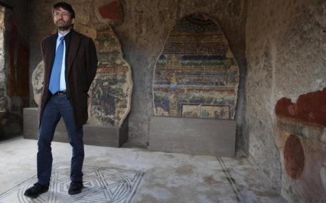 domus restaurate a pompei