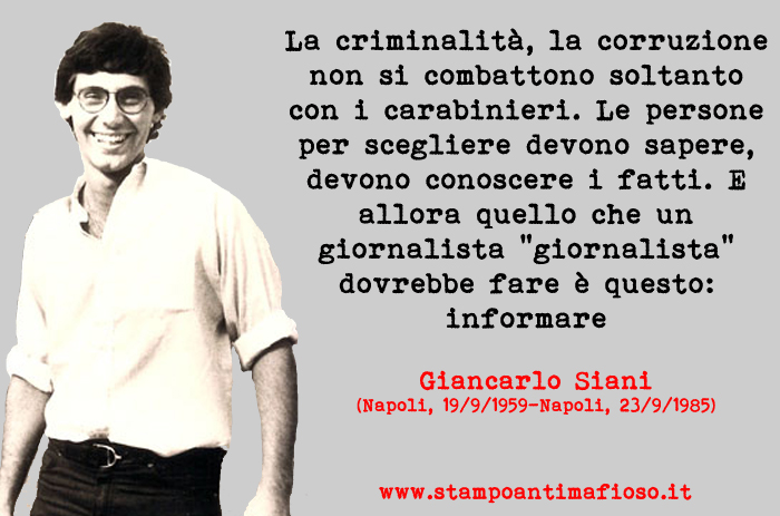 Undicesima Edizione Del Premio Giancarlo Siani