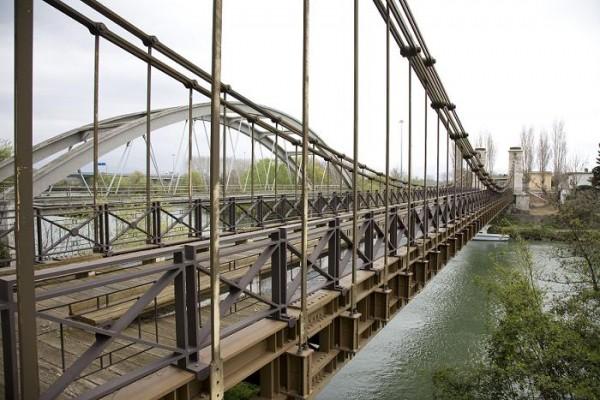 ponte sospeso Garigliano