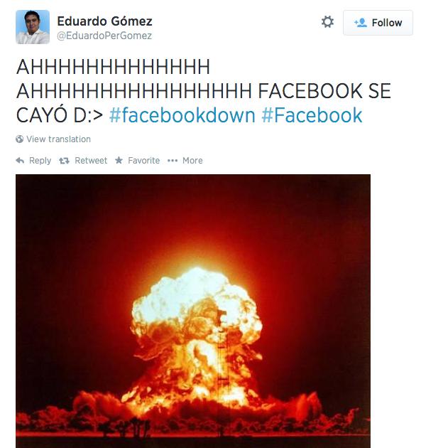 Facebook tilt