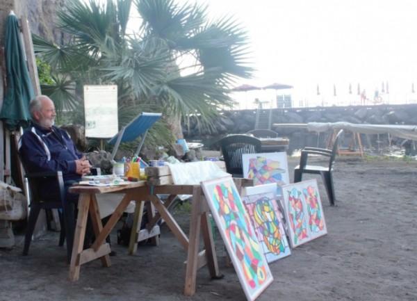 Aldisio, artista custode per conto dell'Asso Vela a' Tarchia - M. Laureanti