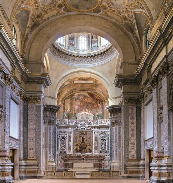 CHIESA DONNAREGINA NUOVA altare