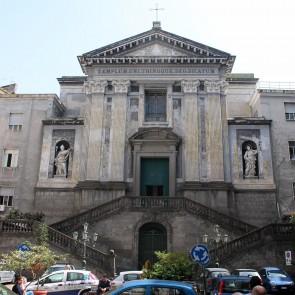 Chiesa Pellegrini, inglobata ospedale