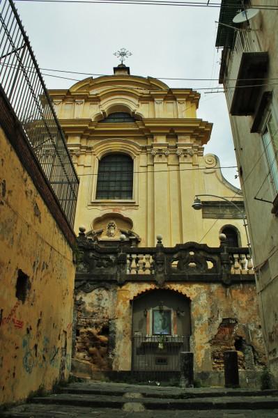 Chiesa dei Santi Severino e Sossio, esterno