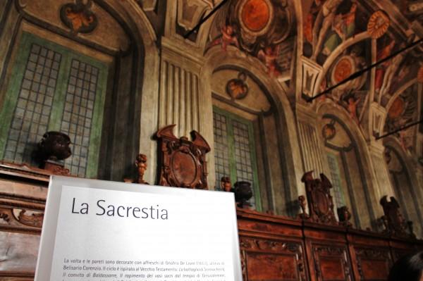 Sacrestia chiesa dei santi Severino e sossio