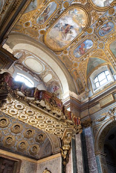 Il coretto - Chiesa Donnaregina nuova