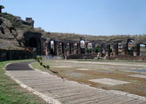L'arena dell'anfiteatro