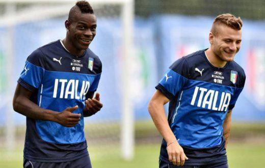 Mario Balotelli e Ciro Immobile