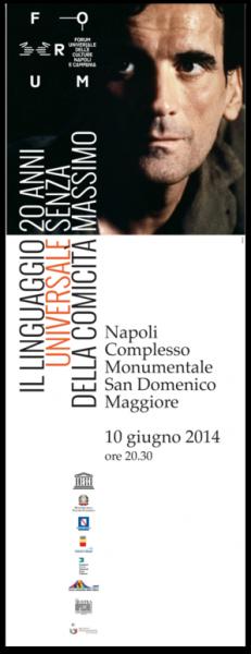 Massimo troisi, San domenico maggiore