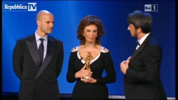 La figuraccia di Paolo Ruffini con Sophia Loren