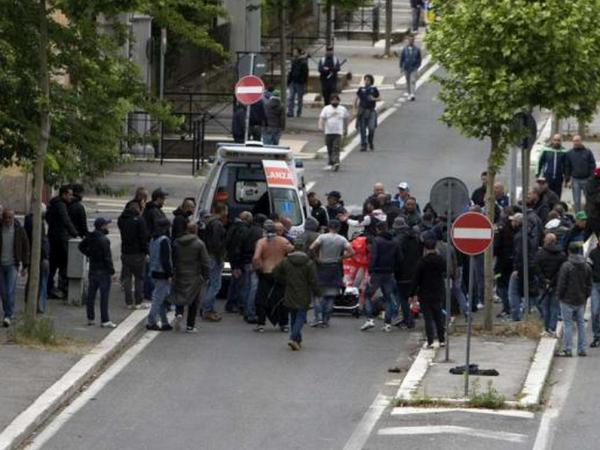 Scontri prima della finale di Coppa Italia tra Napoli e Fiorentina