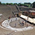 teatro Grande Pompei scavi