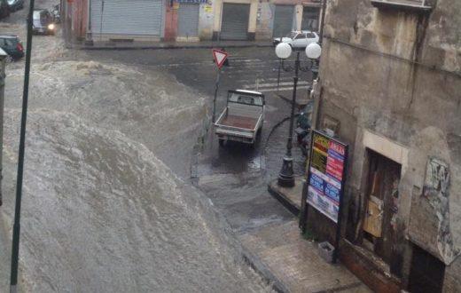 Via XX Settembre (Rio) allagata
