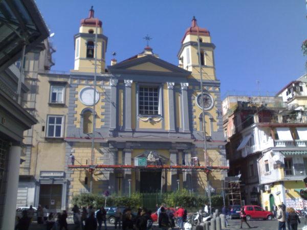 chiesa di santa maria a montesanto