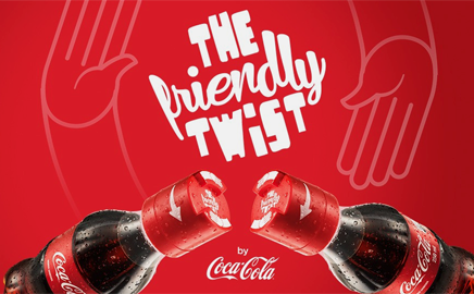 Video-Frendly Twist, il tappo dell'amicizia della Coca Cola
