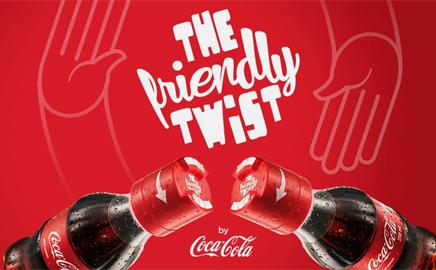 Video-Frendly Twist, il tappo dell'amicizia della Coca Cola