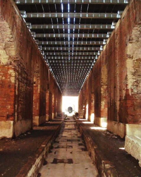 corridio anfiteatro capua