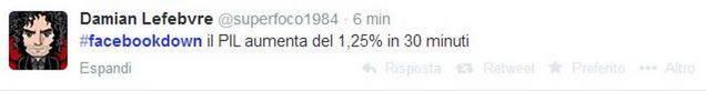 ironia tweet