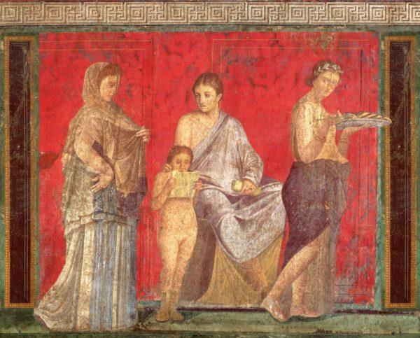 "Arte e medicina, antibiotici per ""curare"" gli affreschi di Pompei"