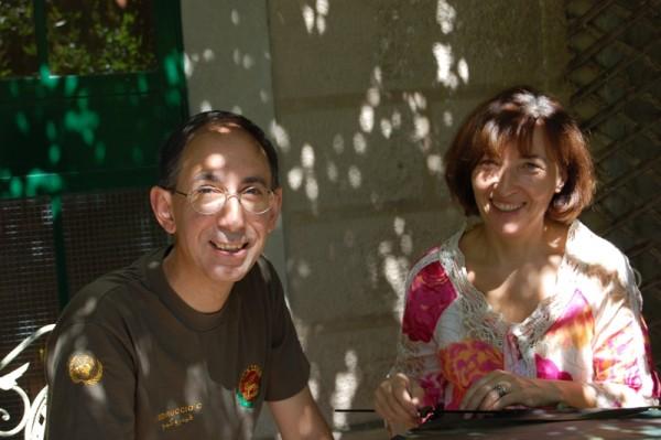 Il professor Clarbruno Vedruccio e sua moglie, la Dr.ssa Carla Ricci