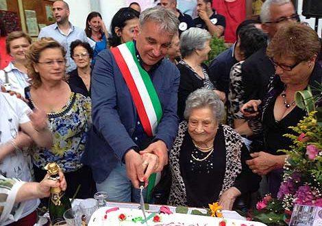 Maria Ferriero festeggia i suoi cento anni