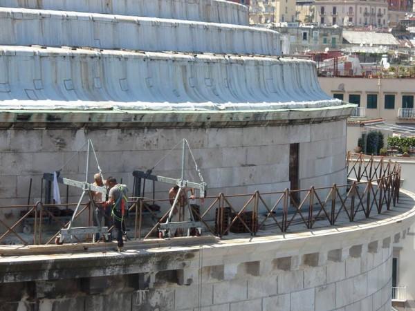 sicurezza - operai sulla cupola
