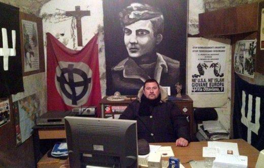 Gastone, Daniele De Santis, Ultras della Roma