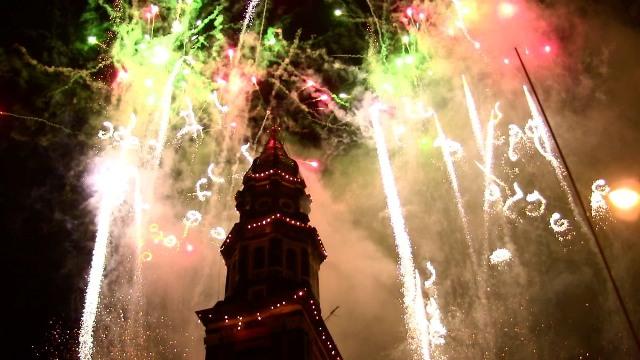 Incendio del campanile del Carmine