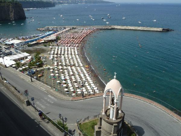 Meta di Sorrento spiagge pubbliche