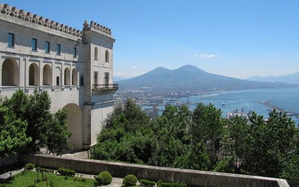 Napoli, golfo visto dalla Certosa di San Martino