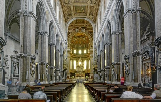 Duomo napoli , interno
