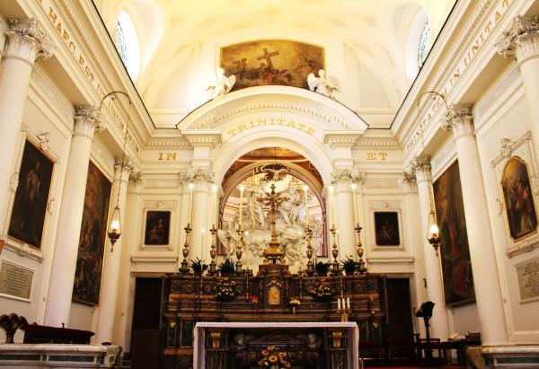 altare, chiesa pellegrini