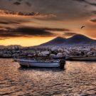 Panorama Napoli a disegno