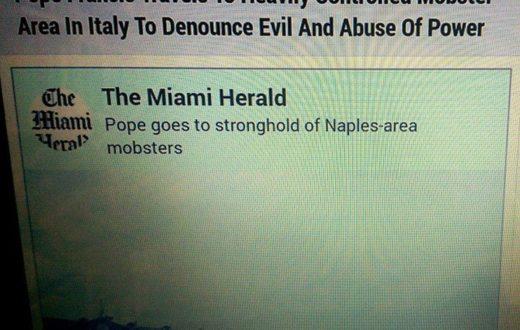 papa discriminazione