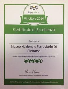 pietrarsa_certificato_tripadvisor