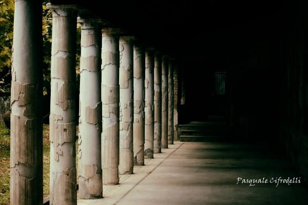 Colonnato della Villa San Marco. castellammare di Stabia (NA)