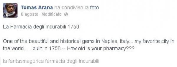 Tomas Arana - Napoli