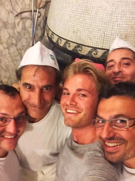 Selfie Rosberg