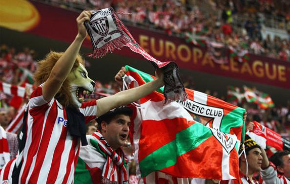 Tifosi dell'Athletic Bilbao