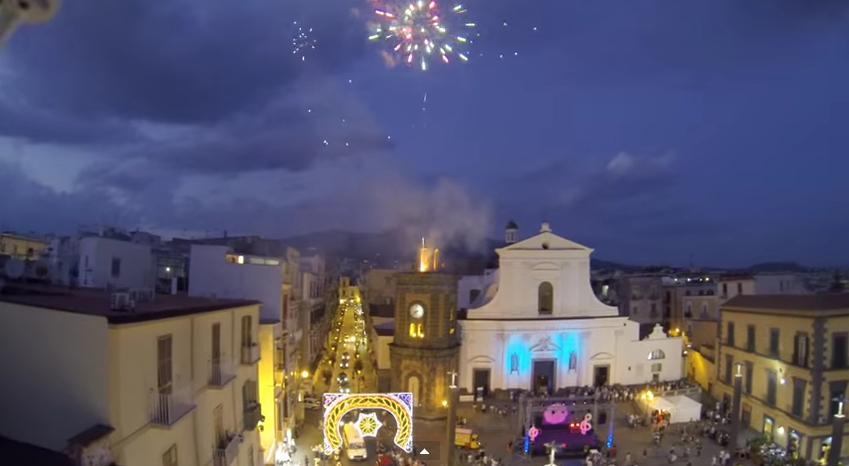 Torre del Greco, drone