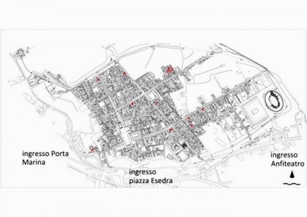 Mappa dei nuovi edifici da visitare