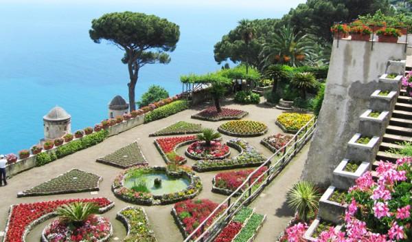 villa rufolo, giardino