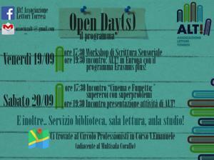 Alt open day(s)