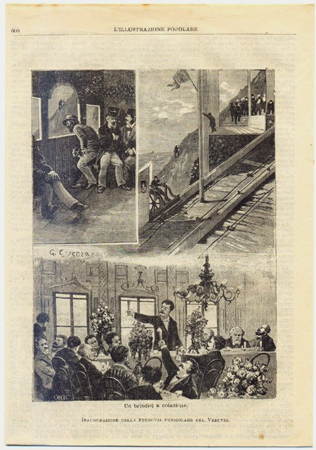 L'Illustrazione Popolare, Vol.XVII, n.38 del 18 Luglio 1880, Litografia