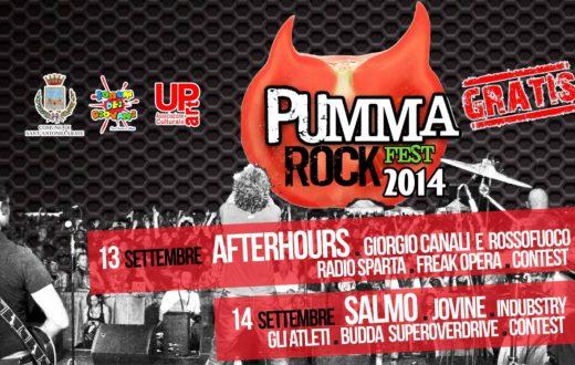 Pummarock Fest, programma della 5° edizione