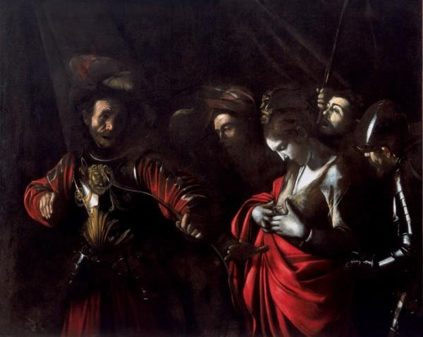 Martirio di Sant'Orsola, Napoli, Palazzo Zevallos
