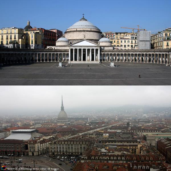 Napoli e Torino